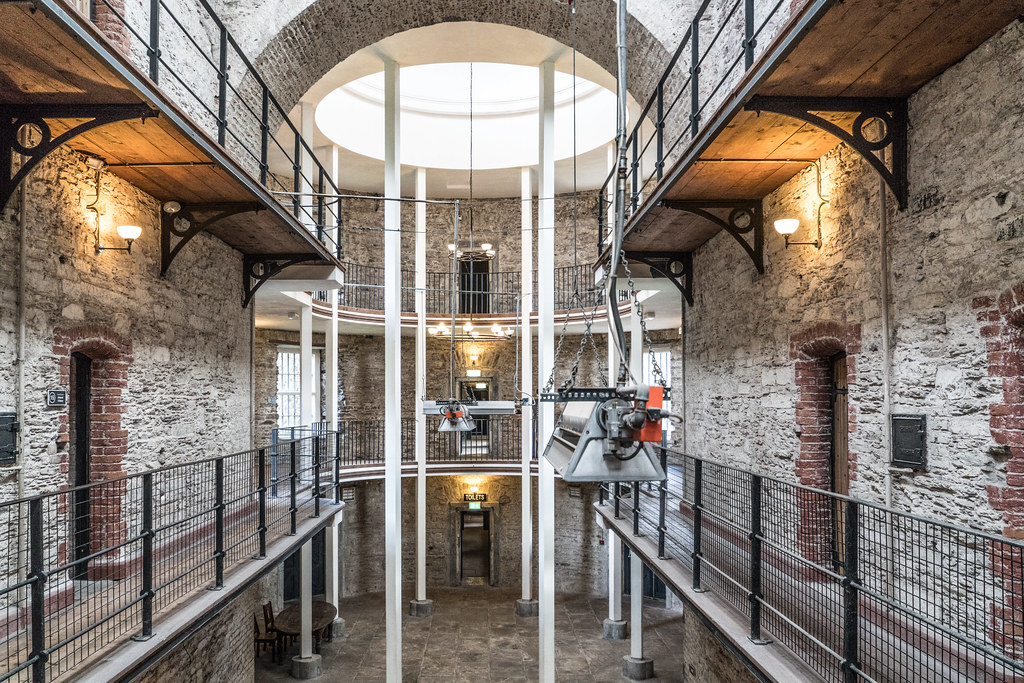 Cork City Gaol in Ireland