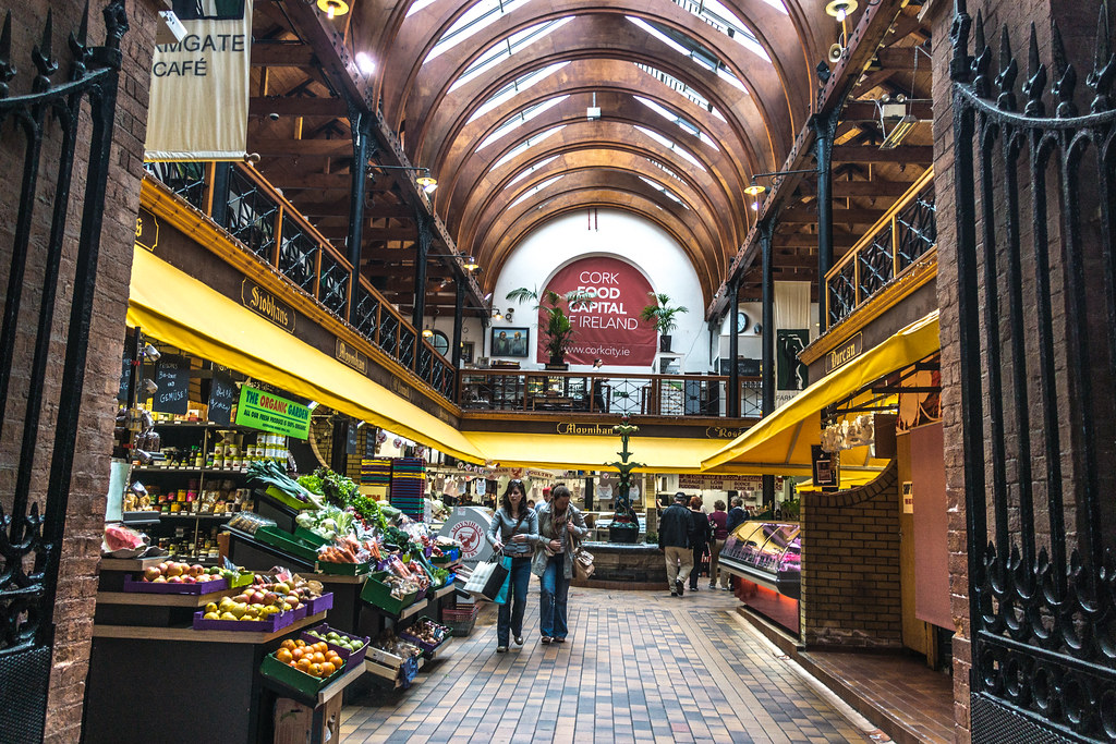 The English Market in Cork, Ireland